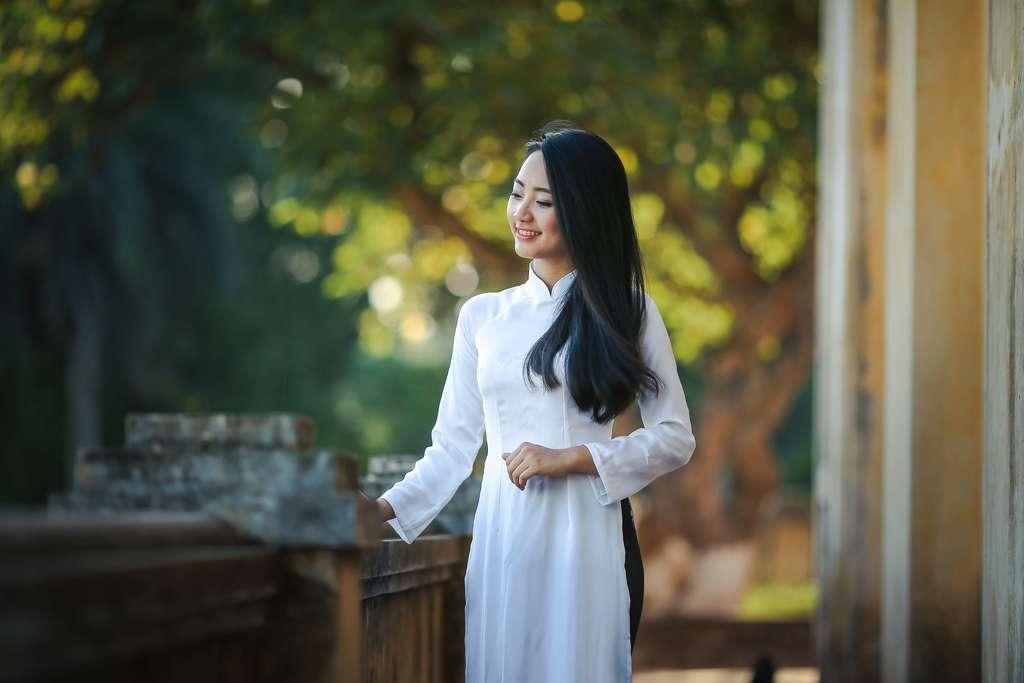 Jolie femme vietnamienne