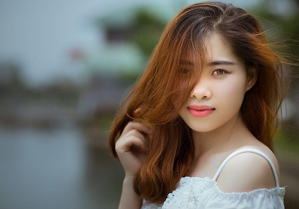 jolie femme vietnamienne asiatique